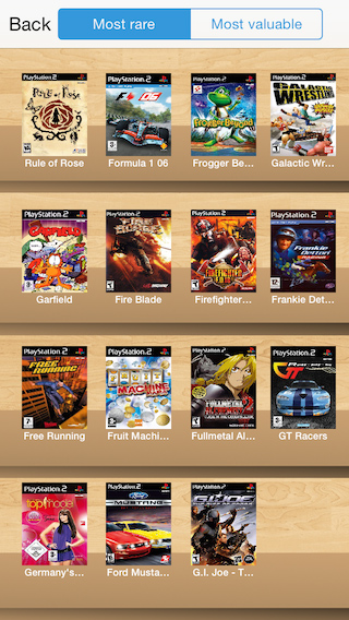 PureGaming org - Retro Game Collector for Playstation 2 (iOS / Android)
